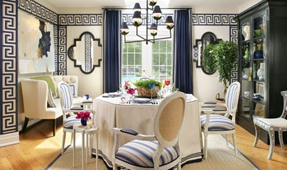 Греческий стиль в интерьере: декор