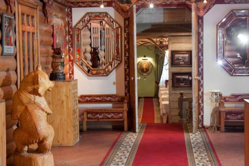 Русский стиль в интерьере: декор