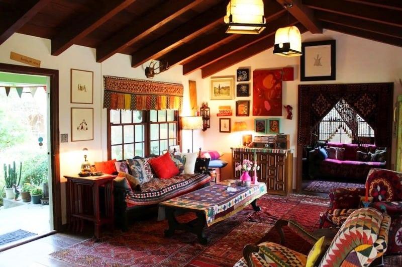 выглядеть стиль Бохо в интерьере: мебель