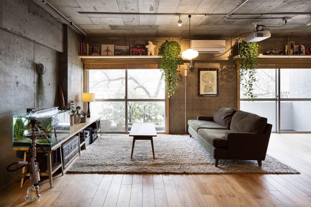 интерьер-гостиной-в-стиле-минимализм