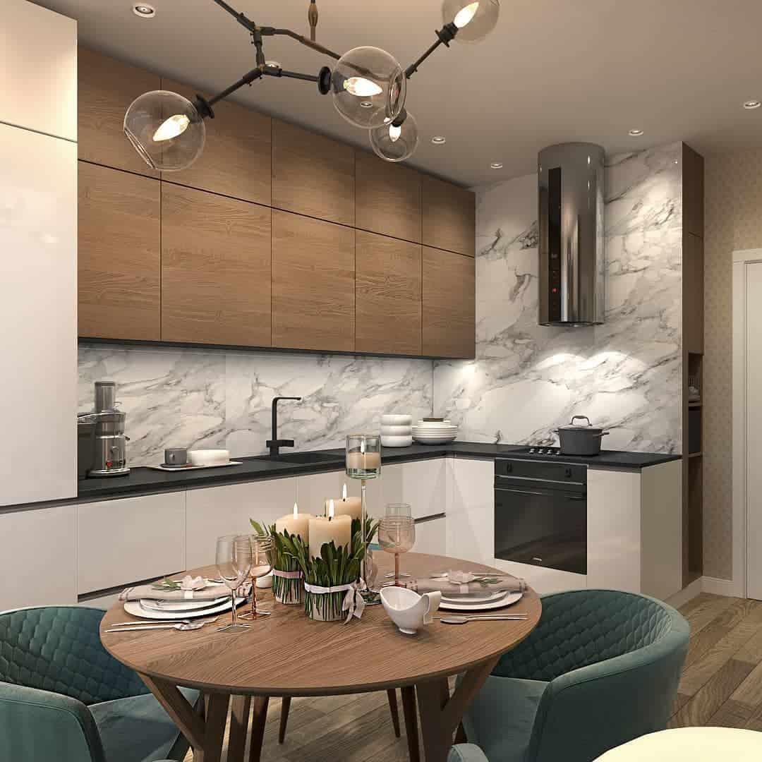 Угловая Кухня 2021 Самые Оригинальные и Эргономичные Модели