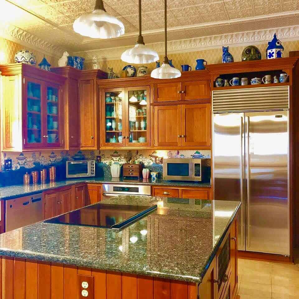 кухня-в-викторианском-стиле