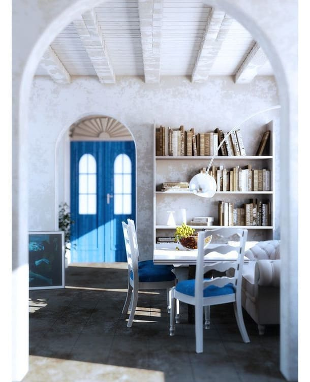 кухня-в-греческом-стиле
