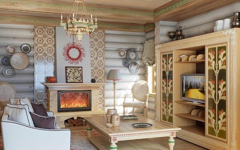 русский-стиль-в-интерьере-загородного-дома