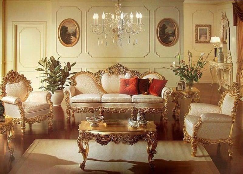 Стиль Ренессанс в интерьере: мебель