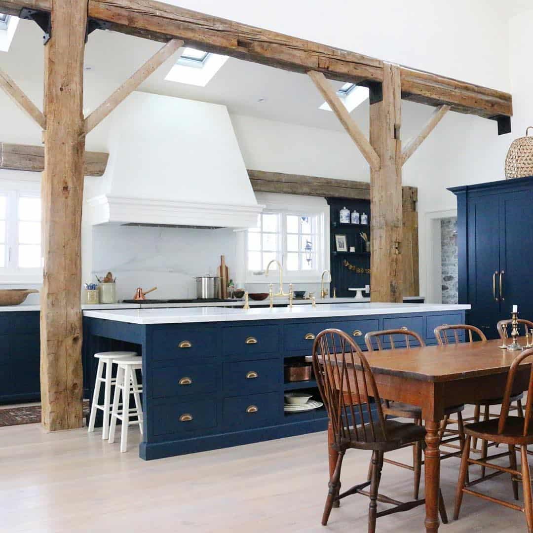 кухня-в-английском-стиле-интерьер